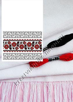 набор для вишивки рушника домотканое полотно